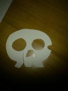 Máscara rota