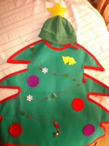 Disfraz árbol de NAvidad
